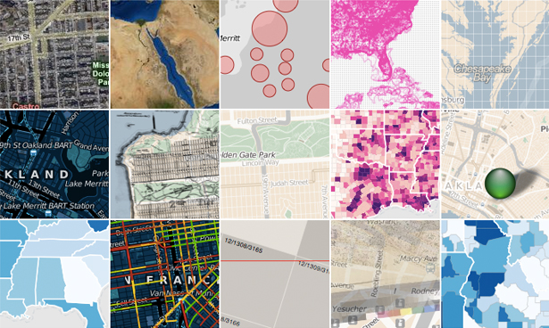 Aimed more at specialist data visualisers, the Polymaps library creates image and vector-tiled maps using SVG