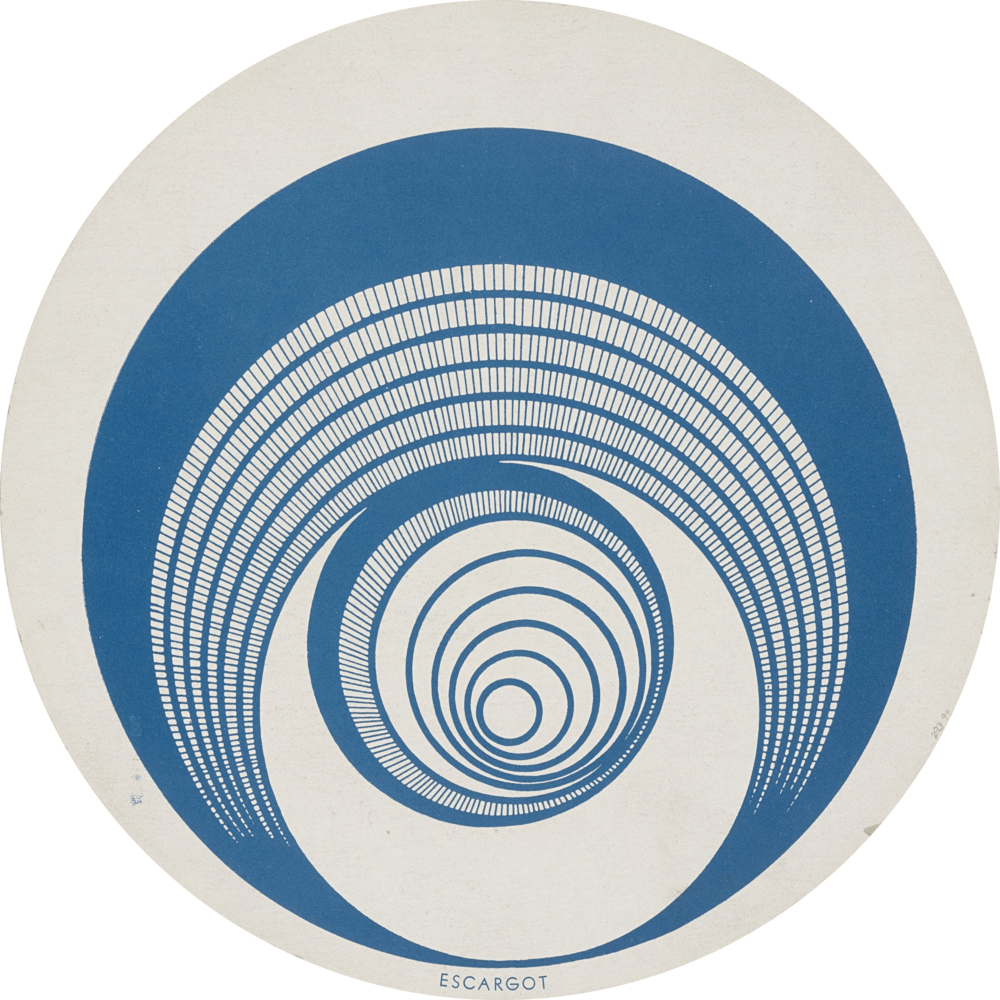 Rotorelief 1 (Optical Disks) - Marcel Duchamp, 1935