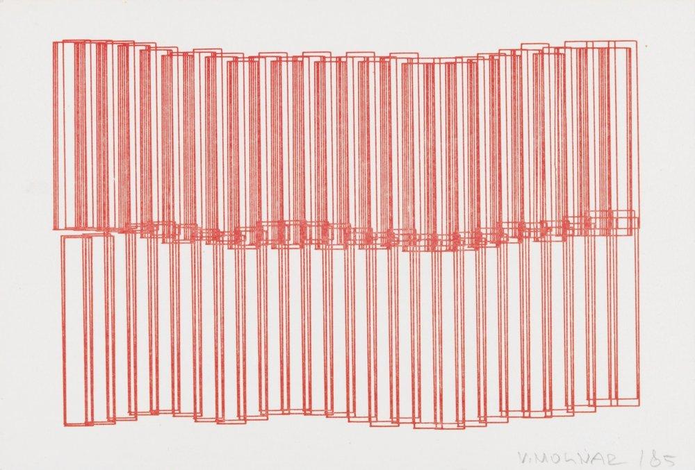 Untitled - Vera Molnár, 1985